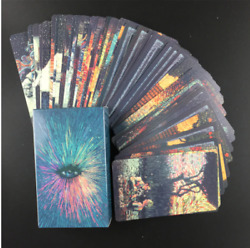 78Pcs Oracle Tarot Cards Guidance Divination Fate Oracle Party Deck English $11.98