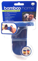 Bamboo Home Dog Food Scoop N Lid Scoop and Seal Your Pet Food Fits Most Cans 1 $16.12
