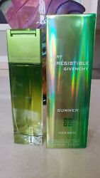 NEW GIVENCHY VERY IRRESISTIBLE SUMMER FOR MEN SPRAY COLOGNE 100 ML 3.3 FL OZ $119.00
