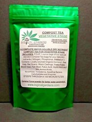 COMPOST TEA VEGETATIVE STAGE FOR USE IN SOIL AND SOILESS MEDIA $12.99