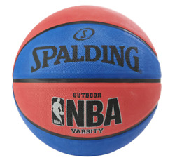 Spalding NBA Street Basketball Official Size 7 29.5#x27;#x27; Red Blue FREE SHIPPING $32.89