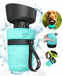 Portable Dog Water BottleUpgraded 2 in 1 Pet Travel Water Bottle and Pet Bottle $27.25