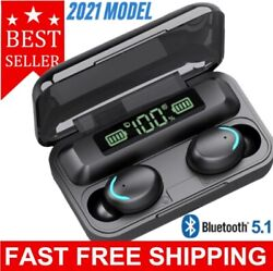 Bluetooth Earbuds for Iphone Samsung Android Wireless Earphone IPX7 WaterProof $16.95