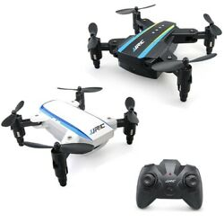 JJRC Mini 2.4G 4CH 6 Axis Headless Mode Foldable Arm Double RC Drone Set Of 2 $38.50