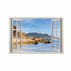 Nature Scenery Wall Stickers Removable Vinyl Decals Wall Living Room Home Décor $19.99