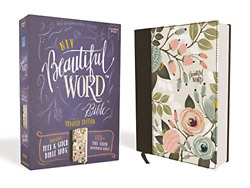NIV Beautiful Word Bible Updated Edition Peel Stick Bible Tabs Cloth over $46.18