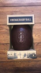 Robert Frederick Vintage Rugby Ball New In Box $29.99