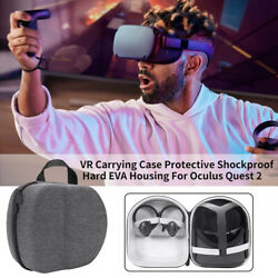 Housing Shockproof VR Carrying Case Outdoor Hard EVA Gaming For Oculus Quest 2 $28.69