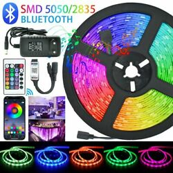 LED Strips Lights Bluetooth Luces Led RGB 5050 SMD 2835 Flexible Waterproof Tape