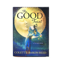 The Good Tarot Card A 78 Card Deck Classical Waite Rider Divination Party Games $11.98