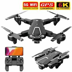 5G 4K 6K GPS WiFi Drone x Pro with HD Camera FPV Selfie Foldable RC Quadcopter $108.99