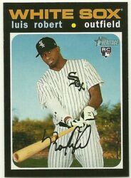 2020 Topps Heritage High Number COMPLETE 200 CARD BASE SET #501 700 LUIS ROBERT $34.97
