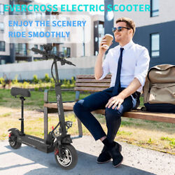 Folding Electric Scooter 30MPH 10AH E Scooter 800w Motor For Adults Black $599.00