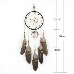Feather pendant Handmade Home Ornament Pendant Room Wall mounted Antique C $18.12