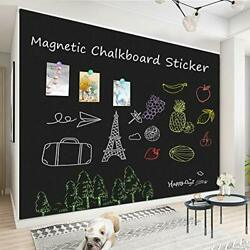 Magnetic Chalkboard Paper Wall Non Adhesive Blackboard Contact Paper Home Office $149.99