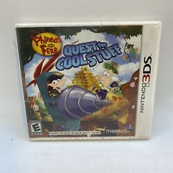 Phineas and Ferb: Quest for Cool Stuff Nintendo 3DS 2013 New $11.75