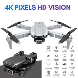 Dual camera Drone HD Camera WIFI Real Time Transmission Aerial Photography Drone $52.33