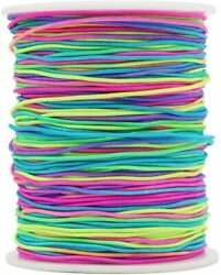 Beading Cord Stretchy String For for Bracelets Jewelry Making 328 Feet Colorful $13.99