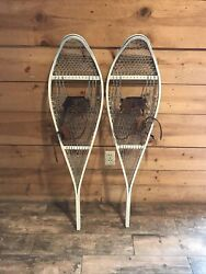 Vintage Snowshoes with Leather Strap $60.00