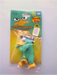 NIP Phineas and Ferb Perry The Platypus Agent P Cell Phone PDA Plug Cover Plush $10.00