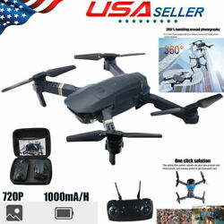 FPV Wifi Drone Quadcopter With HD Camera Aircraft Foldable Selfie Toy Adjustable $28.68