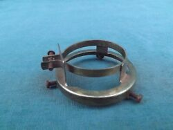Vintage Brass Shade Holder Fitter Holder Clamp On Style 2 1 4quot; LP2 $6.00