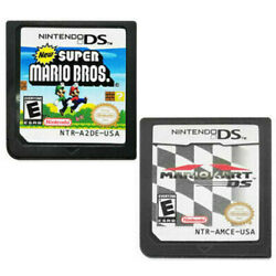 New Super Mario Bros Mario Kart DS Game Card for Nintendo NDSL DSI DS 3DS XL