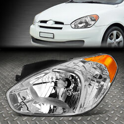 FOR 07 11 ACCENT LEFT DRIVER SIDE OE STYLE HEADLIGHT REPLACEMENT LAMP HY2502144 $43.99