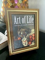ART OF LIFE TAROT by Charlene Livingstone AUTHENTIC 78 Cards POP UP FRAME OOP🖼 C $234.00