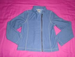 Girls Size M 7 8 Gymboree Outlet Top Zip Up Jacket or Shirt Long Sleeve VGUC $6.99