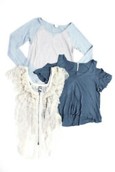 Free People We The Free Womens Blouse Tank Top Sweater Size Extra Small Lot 3 $29.01
