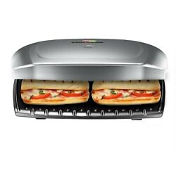 George Foreman 9 Serving Classic Plate Electric Indoor Grill and Panini Press $100.00