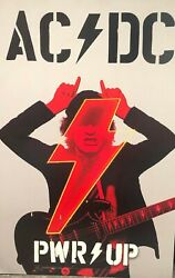 AC DC PWR UP Power Up Promo Poster 11x17 $9.99