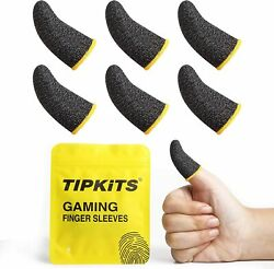 6PCK Tipkits Finger Sleeves for Gaming Thumb Sleeves Mobile Gaming for Pubg $9.09