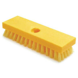 Rubbermaid Commercial Products Fg9b3600yel Deck BrushYellow