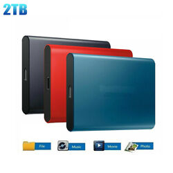 USB 3.0 High Speed Type C Portable 2TB SSD External Solid State Drive Storage US $34.98