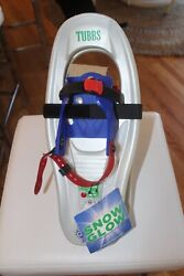 TUBBS SNOW GLOW KIDS SNOWSHOES Snow Shoes Brand New Size 4 8 years $30.00