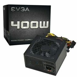 EVGA Power Supply 400 Watts 400W 100 N1 0400 L1 $32.99