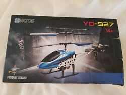 VATOS RC Helicopters Remote Control Helicopter with Gyro and LED Light 3 Alloy $39.99