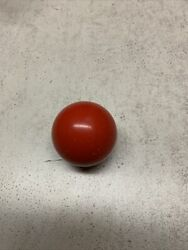 Sears Harvard Multi Game Arcade Table PARTS Red Bowling Ball $12.00