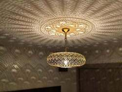 moroccan handmade lamp celling lamp lighting art in your wall vintage moro $245.00
