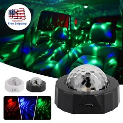 LED Starry Night Sky Galaxy Projector Lamp 3D Ocean Wave Star Light Party Decor $10.49