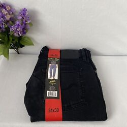 Urban Star men#x27;s Stretch Relaxed Fit Straight Leg Jeans Choose sizeamp;color NWT $33.45