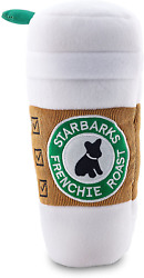 Dog Toys Unique Starbarks Coffee Plush Squeaky Pet Toys Small Medium Large Dogs $20.64