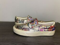Vans Slip On Festival Satin Gold Size 5 Men's Size 6.5 Women's New With Tags $59.99