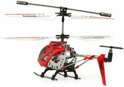 Remote Control Helicopter 3 Channel Mini RC Crash Proof Alloy Frame LED Lights $37.89