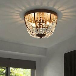 Berliget Small Bedroom Flush Mount Chandelier $56.89