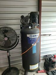 Kobalt 60 gallon air compressor blue gently used pick up available $349.00