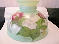 9 3 4quot; VINTAGE SHADE WITH FLOWERS $29.95