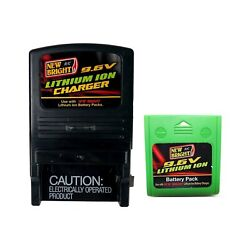 New Bright R C 9.6V Lithium Ion RC Battery Charger With Battery $39.00